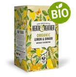 Heath & Heather BIO Citrón a zázvor 20g