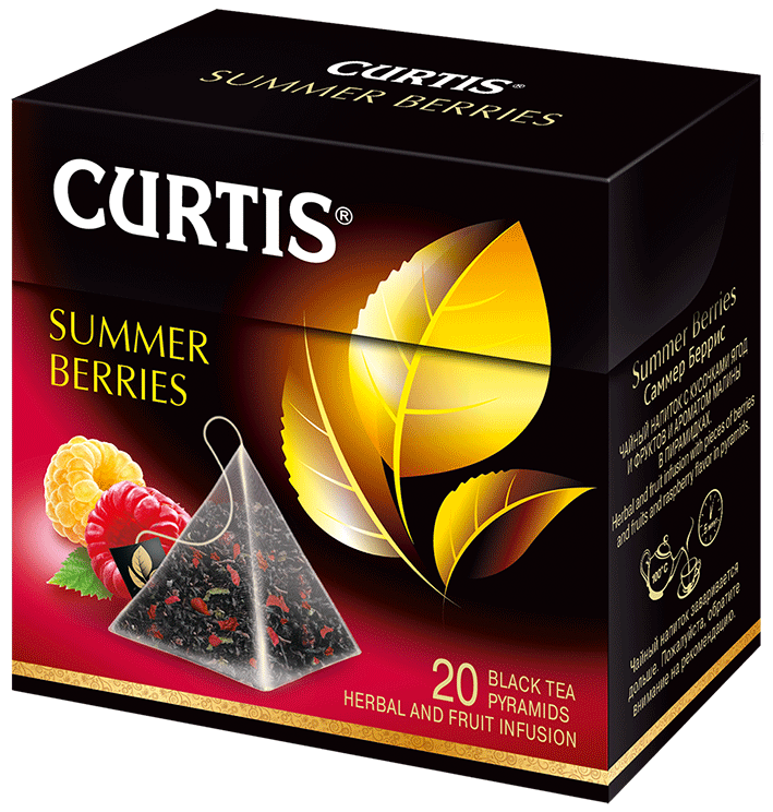 Curtis černý čaj Summer Berries 36g