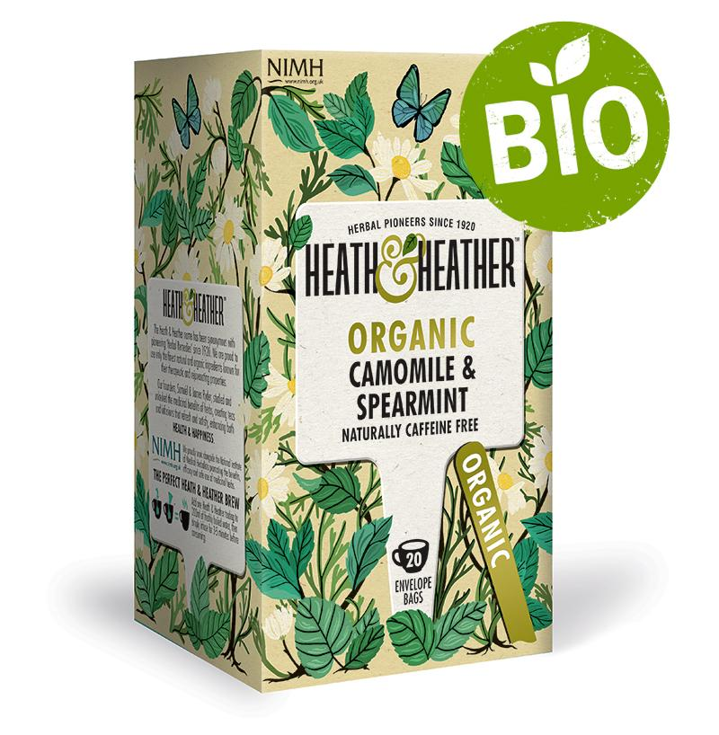 Heath & Heather BIO Heřmánek a máta  20g