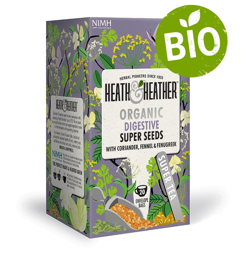 "Heath & Heather BIO Super Seeds ""Na zažívání"" 20g"
