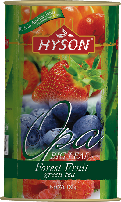 Hyson Forest Fruit zelený čaj 100g