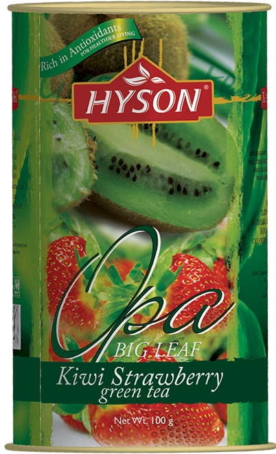 Hyson Kiwi Strawberry zelený čaj 100g