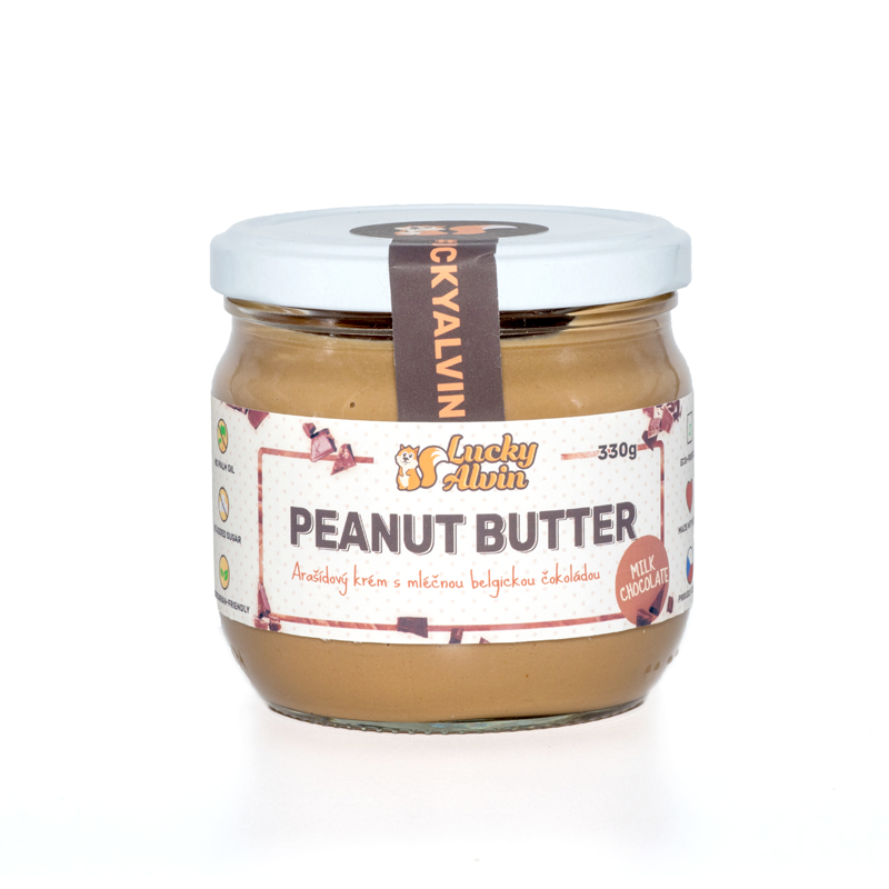 Lucky Alvin Peanut Butter Milk Chocolate 330g