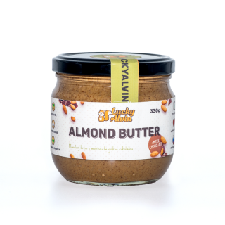 Lucky Alvin Almond Butter Milk Chocolate 330g