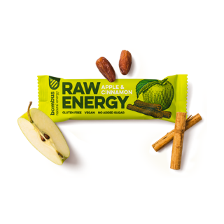 Bombus RAW ENERGY Apple & Cinnamon 50g